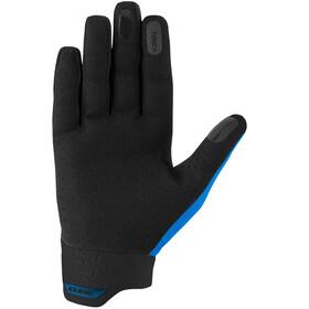 Cube Performance Long Finger Gloves, czarny/niebieski